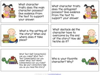 Writing Prompts: Fiction Book Study