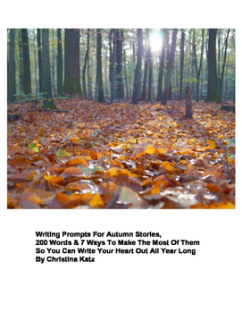 Writing Prompts For Autumn Stories Ebook