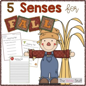 Fall Writing Prompts Using the 5 Senses