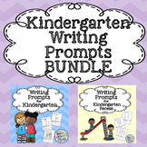 Writing Prompts For Kindergarten BUNDLE