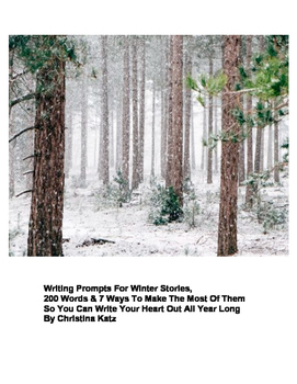 Writing Prompts For Winter Stories Ebook