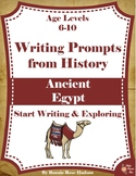 Writing Prompts From History: Ancient Egypt (Ages 6-10)