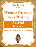 Writing Prompts From History: Ancient Greece (Ages 6-10)