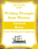 Writing Prompts From History: Ancient Rome (Ages 6-10)