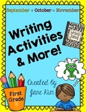 Writing Activities and More: September, October, & November~K to Grade 1
