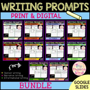 Writing Prompts Growing Bundle