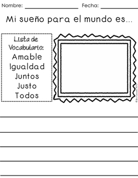 Spanish Writing Prompts Year Long Bundle