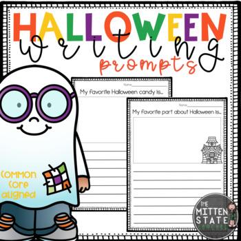 Writing Prompts { Halloween }