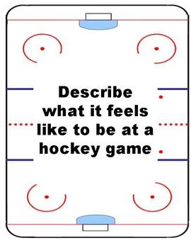Writing Prompts: Hockey