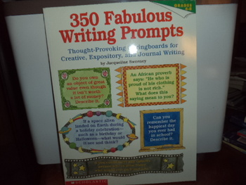 Writing Prompts ISBN#0-590-59933-X