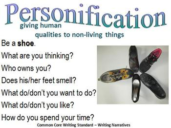 Visual Writing Prompts Incorporating Common Core Standards