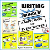 LISTS ... VOCABULARY REFERENCE BUNDLE for WRITERS Interactive  Gr. 3,4,5,6 FUN