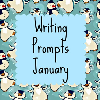 Writing Prompts: January