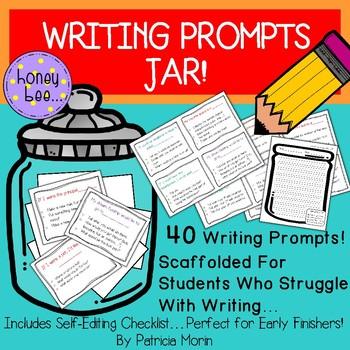 Writing Prompts Jar