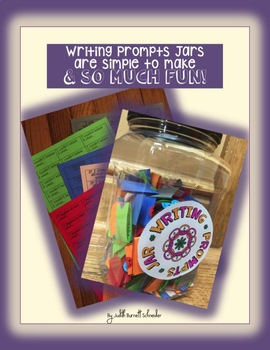 Distance Learning Writing Prompts Jar: Easy & Thought-Provoking Writing Activity