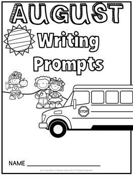 Writing Prompts Journal Kindergarten - 3rd Grade  FREEBIE