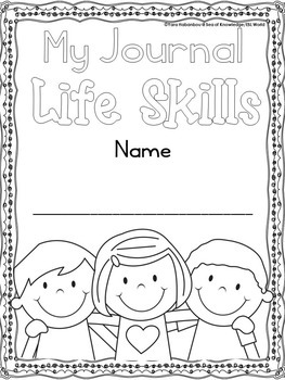 Journal Prompts {Look, Think, Write - Life Skills Edition}