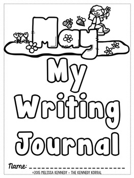 May Writing Prompts and Activities {31 Days with Teacher's Notes}
