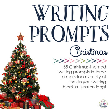 Merry Christmas Writing Ideas.Writing Prompts Christmas