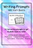 Writing Prompts - Mini workbooks
