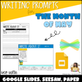Writing Prompts: Month of May [DIGITAL & PRINTABLE!]