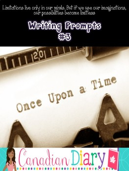 Writing Prompts (No Prep) Package 3- Descriptive, Persuasi