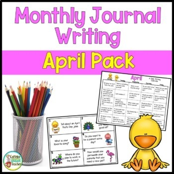 Daily Journal Writing Prompts and Papers for April