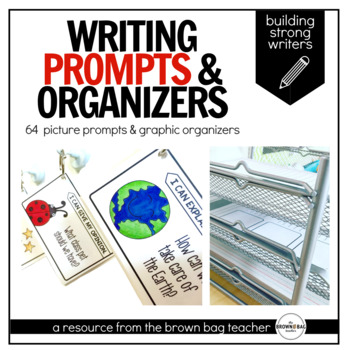 Writing Prompts: Opinion, Narrative, How-To, Inform/Explain for Primary Authors