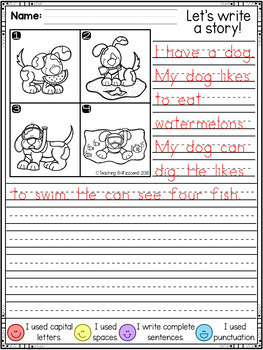 First Grade Writing Activities (GROWING BUNDLE)