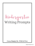 Writing Prompts Pack for Kindergarten and First Grade