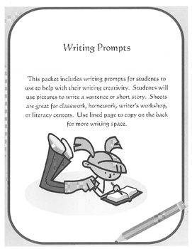 Writing Prompts Packet