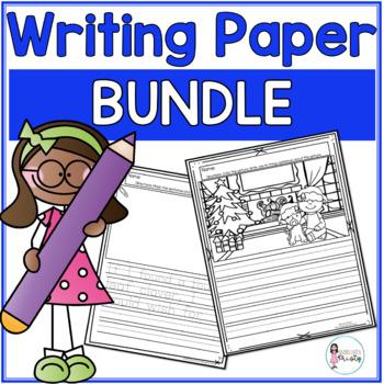 Writing Prompts & Paper BUNDLE