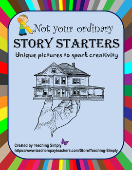 Writing Prompts - Pictures Only - Creative,  Narrative - Print and Teach