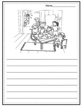 Picture Writing Prompts for Older Students