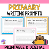 Writing Prompts (K-1) - Distance Learning