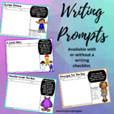 Writing Prompts - Printable or use for Digital Learning