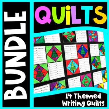 Writing Prompts Quilt Bundle Fall Writing Prompts, Halloween Writing Prompts etc