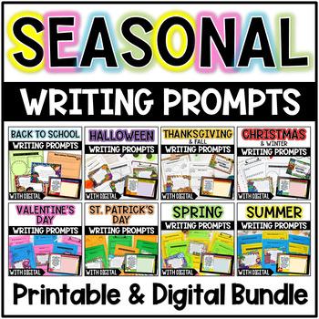 Writing Prompts {Seasonal Bundle}