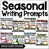 Writing Prompts {Seasonal Bundle}