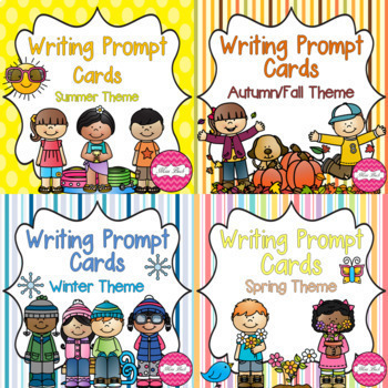 Writing Prompts- Seasons BUNDLE