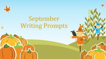 Writing Prompts September