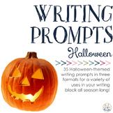 Writing Prompts: Halloween