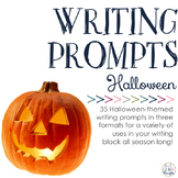 Writing Prompts: Halloween