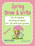 Writing Prompts:  Spring Draw & Write!  No Prep for 1st or 2nd