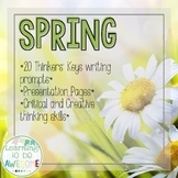 Writing Prompts - Spring - Thinker's Keys