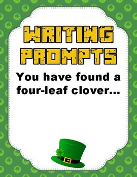 Writing Prompts: St. Patrick's Day