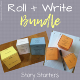 Writing Prompts BUNDLE | Story Starters | Roll + Write Dice Activity