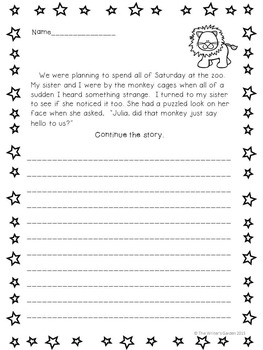 Writing Prompts & Story Starter Cards
