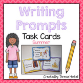Writing Prompts Task Cards Summer Theme