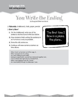 Writing Prompts (Ten-Minute Activities)
